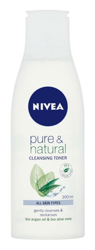 Nivea Visage Pure & Natural tónico limpiador facial