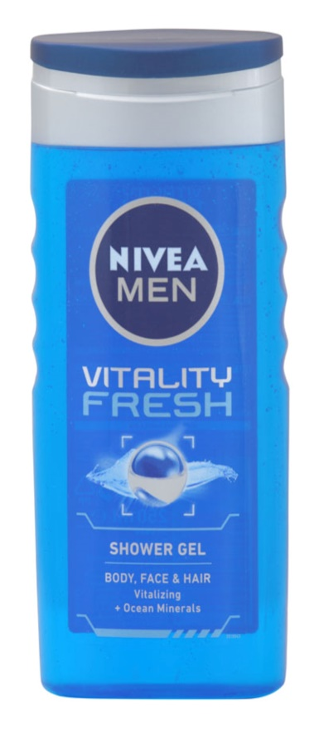 Nivea Men Vitality Fresh Shower Gel For Hair And Body