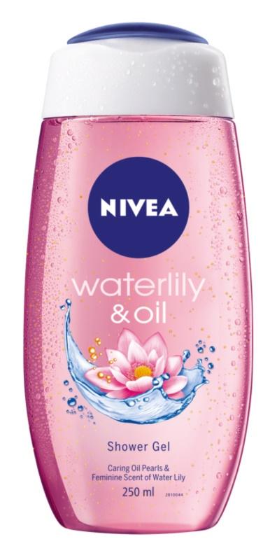 Nivea Waterlily & Oil povzbuzující sprchový gel