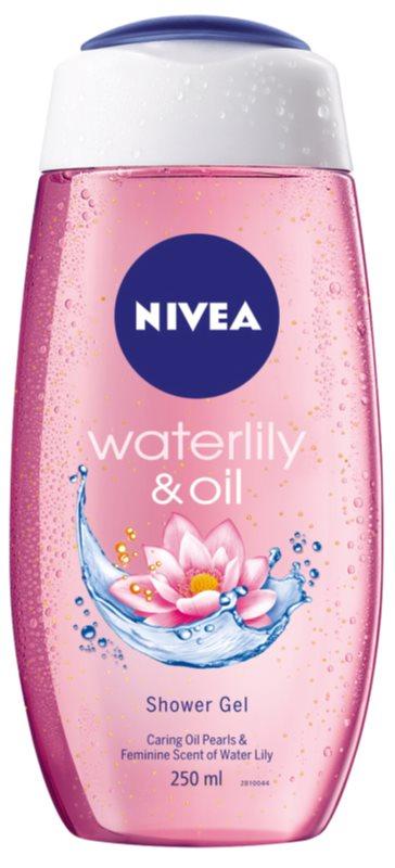 Nivea Waterlily & Oil зареждащ с енергия душ гел