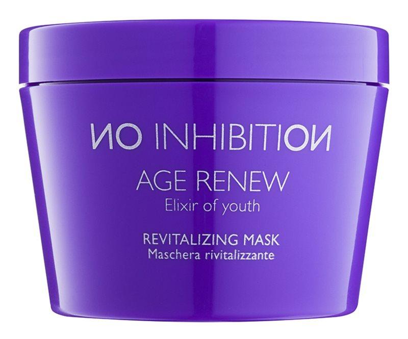 No Inhibition Age Renew máscara para cabelo revitalizadora