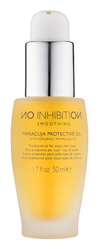 No Inhibition Smoothing ochranný marakujový olej pre všetky typy vlasov