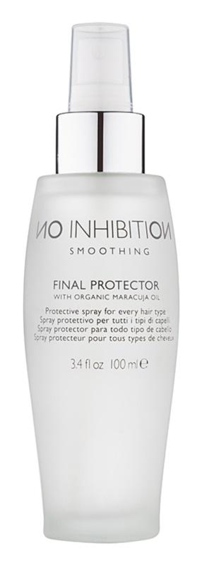 No Inhibition Smoothing spray de proteção para finalização térmica de cabelo