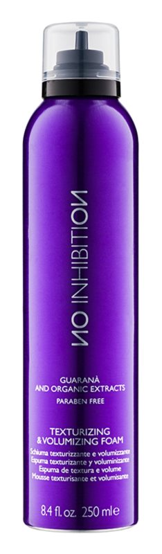 No Inhibition Styling espuma para el cabello para dar volumen y forma