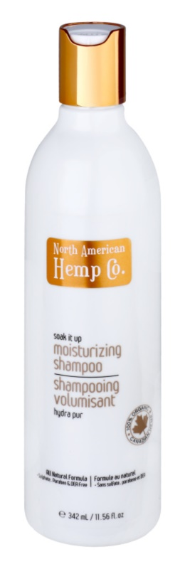 North American Hemp Co. Soak It Up hidratáló sampon száraz hajra