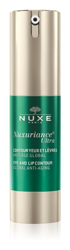 Nuxe Nuxuriance Ultra krema za pomlađivanje kontura očiju i usana protiv bora, oticanja i tamnih krugova