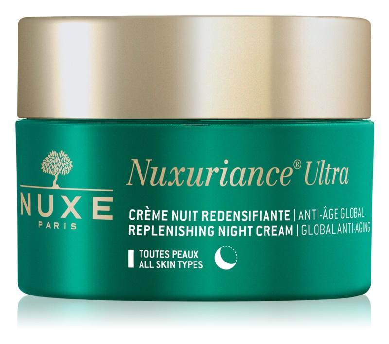Nuxe Nuxuriance Ultra crème de nuit nourrissante et rajeunissante pour tous types de peau