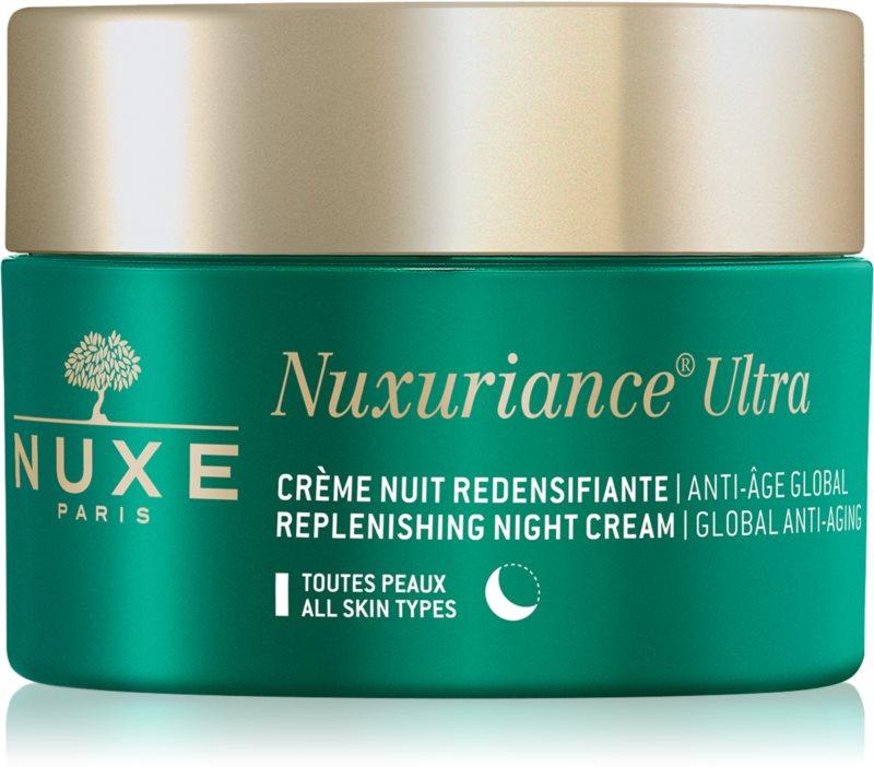 Nuxe Nuxuriance Ultra noćna hranjiva krema za pomlađivanje za sve tipove kože