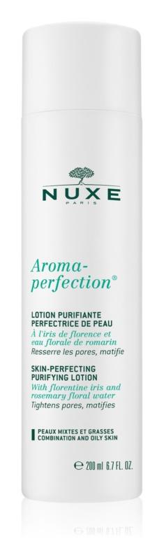 Nuxe Aroma-Perfection pleťová voda pro mastnou a smíšenou pleť