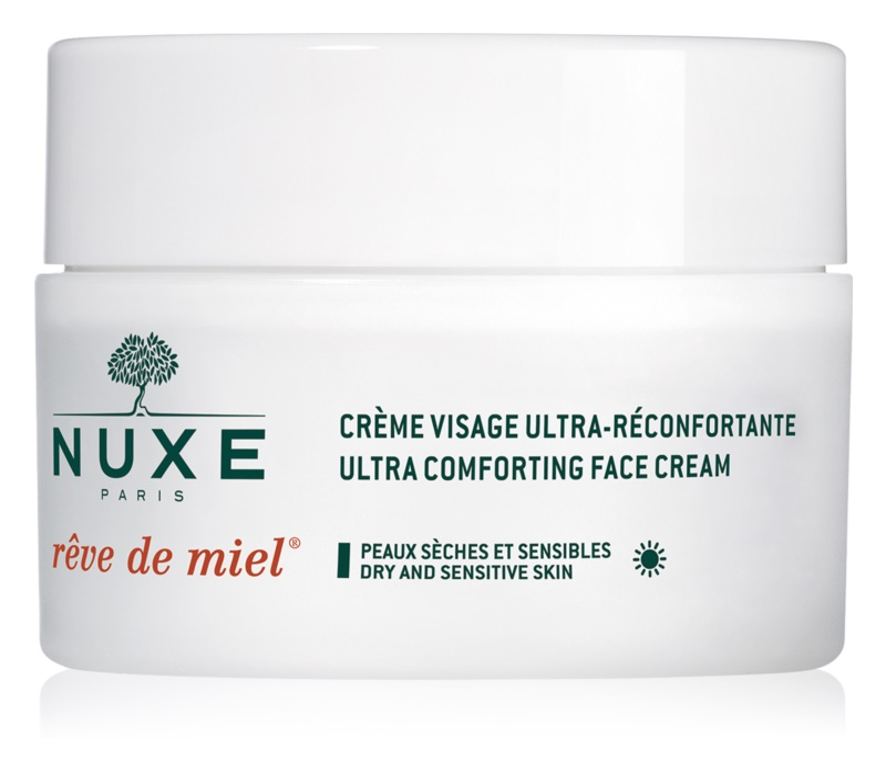 Nuxe Rêve de Miel nawilżająco - odżywczy krem na dzień do skóry suchej