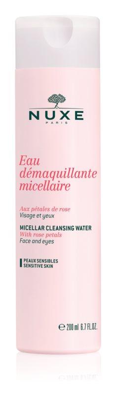 Nuxe Cleansers and Make-up Removers micelární čisticí voda pro citlivou pleť a oči
