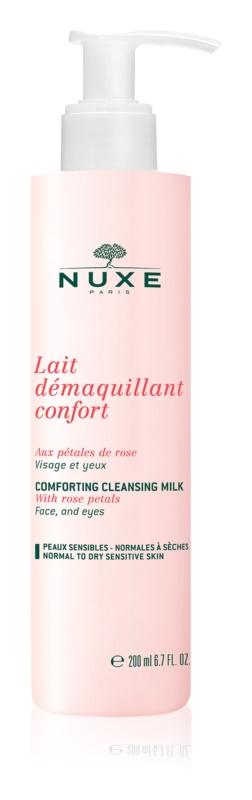 Nuxe Cleansers and Make-up Removers čistiace mlieko pre normálnu až suchú pleť