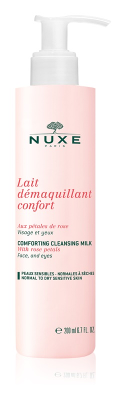Nuxe Cleansers and Make-up Removers leite de limpeza para pele normal a seca