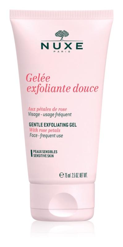 Nuxe Cleansers and Make-up Removers čisticí peeling pro citlivou pleť