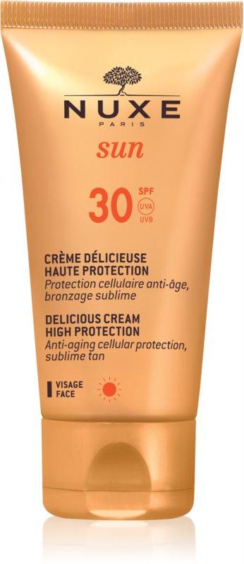 Nuxe Sun крем для обличчя для засмаги SPF 30