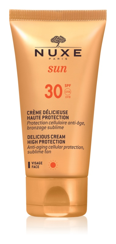Nuxe Sun crema de soare pentru fata SPF 30