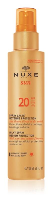 Nuxe Sun sprej na opalování SPF 20