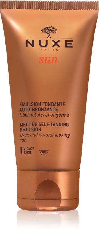 Nuxe Sun samoopaľovacia emulzia na tvár