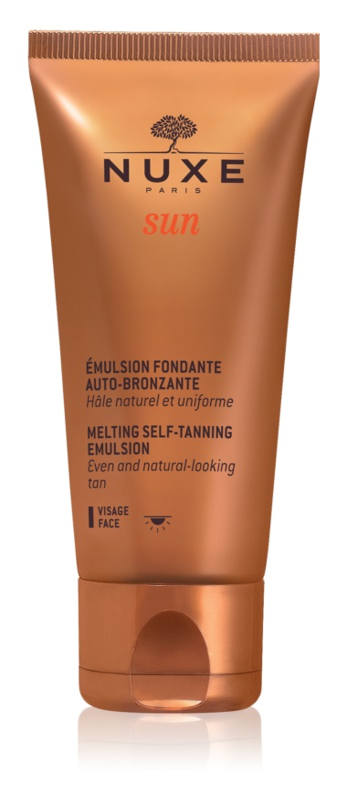 Nuxe Sun емульсія для автозасмаги для обличчя