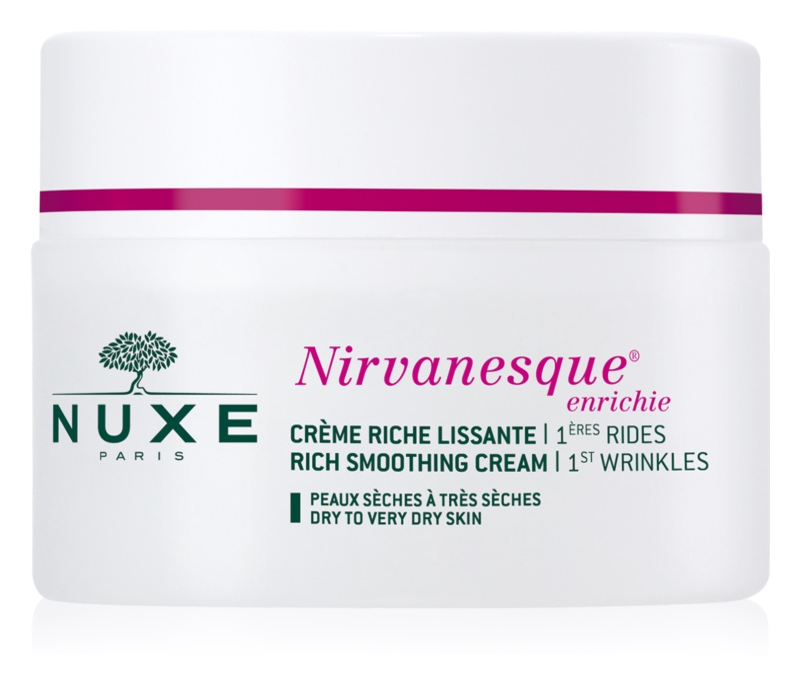 Nuxe Nirvanesque crema alisadora para pieles secas y muy secas