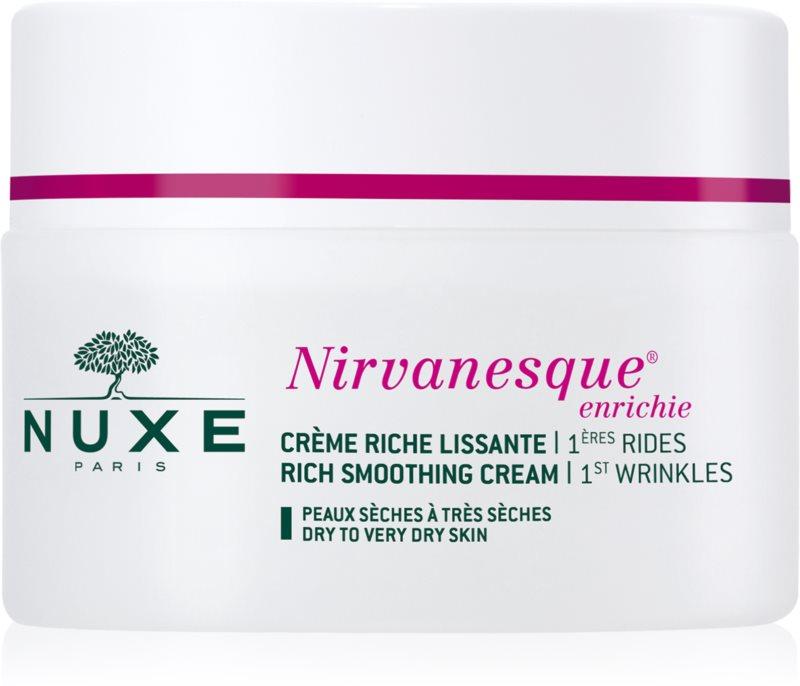 Nuxe Nirvanesque crème lissante pour peaux sèches à très sèches