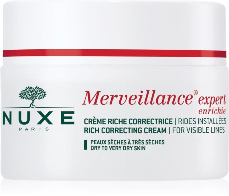 Nuxe Merveillance Crème tegen Rimpels  voor Droge tot Zeer Droge Huid