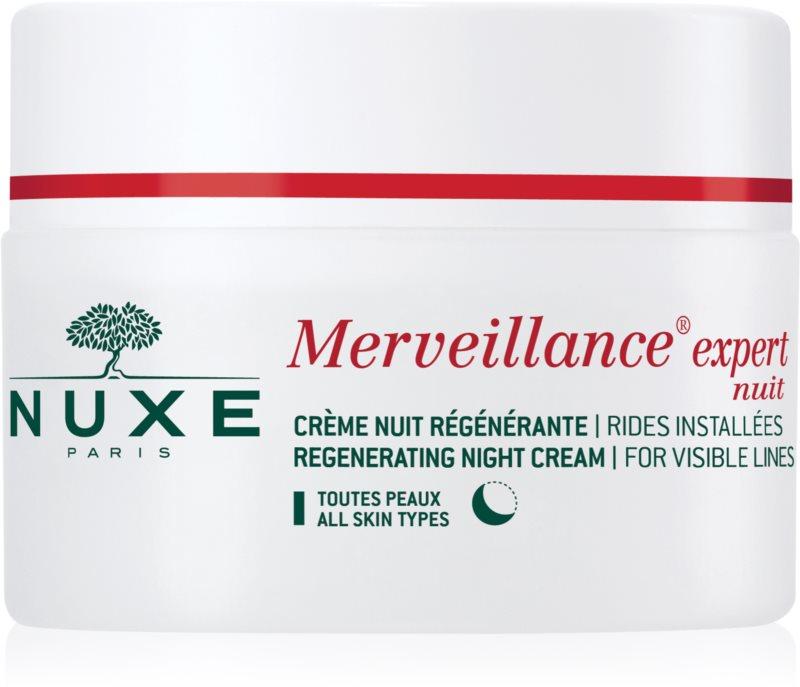 Nuxe Merveillance crema regeneradora de noche para todo tipo de pieles