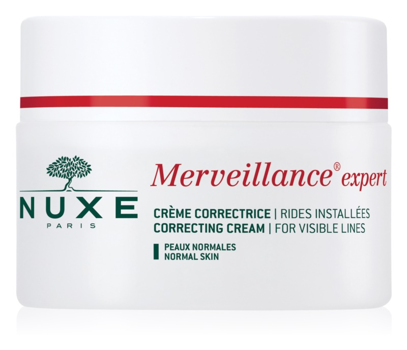 Nuxe Merveillance krém proti vráskám pro normální pleť