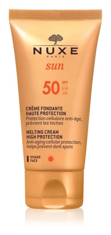 Nuxe Sun crema de soare pentru fata SPF 50