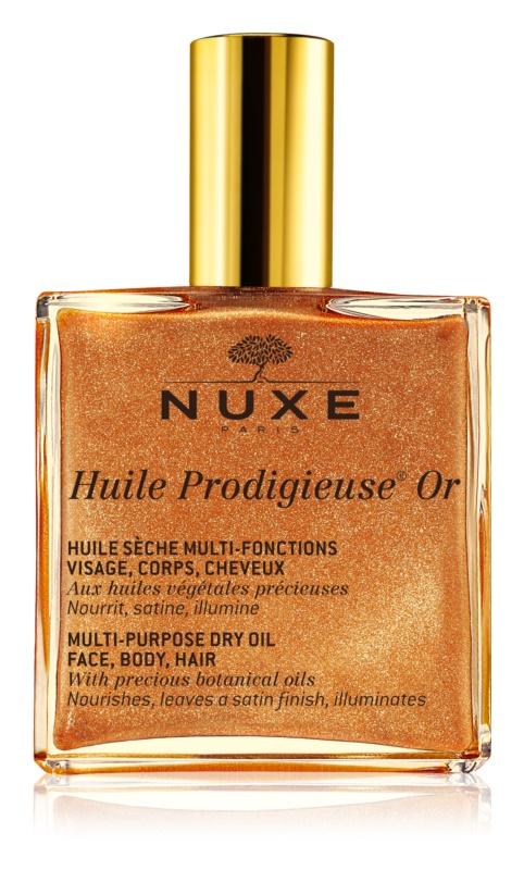 Nuxe Huile Prodigieuse Or multifunkciós csillogó olaj arcra, testre és hajra