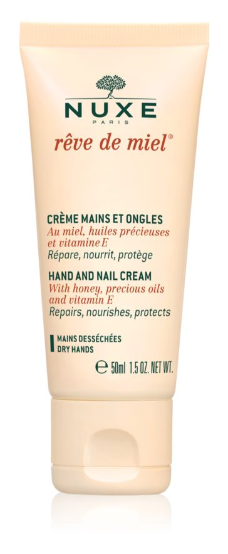 Nuxe Rêve de Miel crema para manos y uñas para pieles secas
