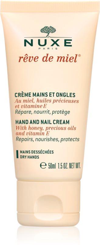 Nuxe Rêve de Miel crème mains et ongles pour peaux sèches