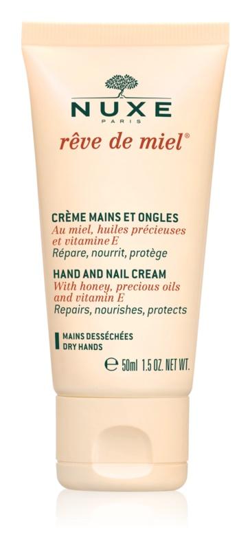 Nuxe Rêve de Miel κρέμα για χέρια και νύχια για ξηρό δέρμα