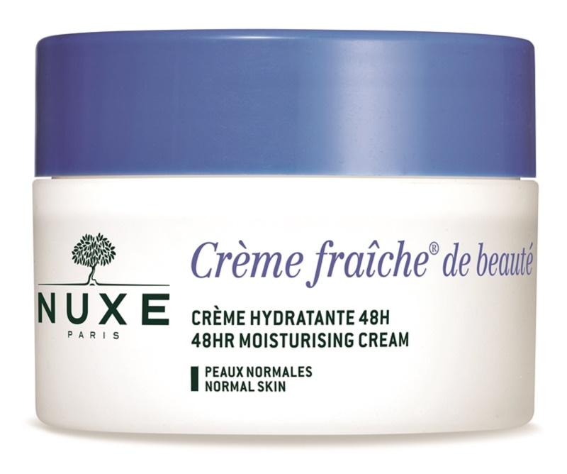Nuxe Crème Fraîche de Beauté crème hydratante pour peaux normales