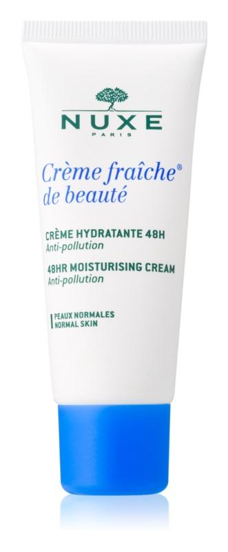 Nuxe Crème Fraîche de Beauté crema hidratante y calmante para pieles normales con tendencia a la irritación