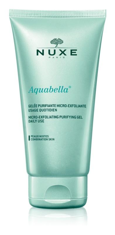 Nuxe Aquabella mikro-exfoliačný čistiaci gél na každodenné použitie