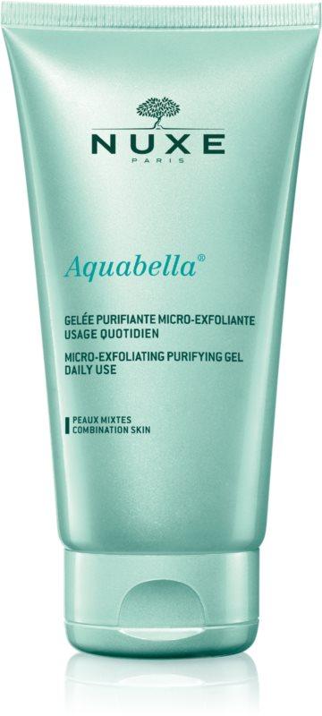 Nuxe Aquabella очисний гель-ексфоліант для щоденного використання