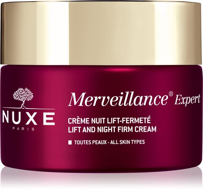 Nuxe Merveillance Expert crème de nuit raffermissante effet lifting
