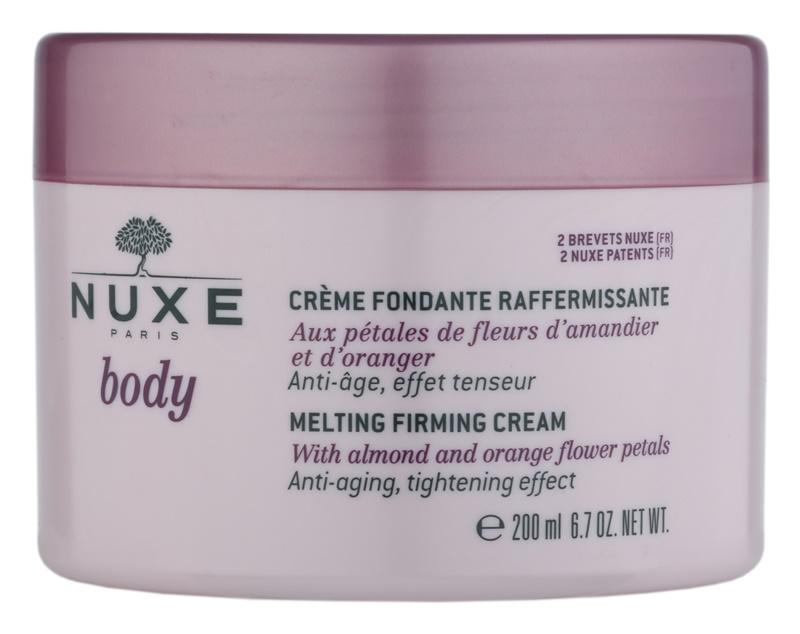 Nuxe Body zpevňující tělový krém proti stárnutí pokožky