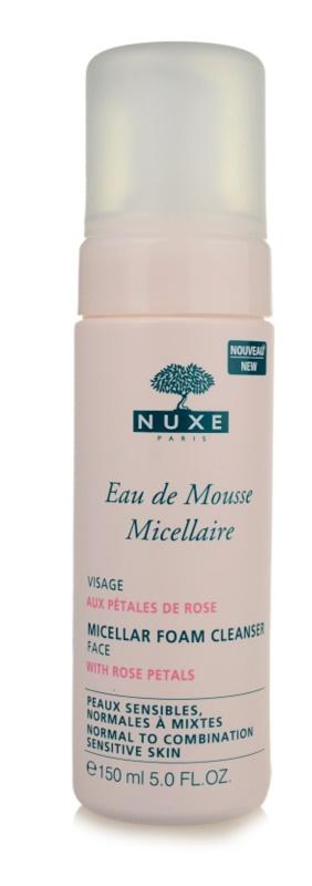 Nuxe Cleansers and Make-up Removers čistiaca pena  pre normálnu až zmiešanú pleť