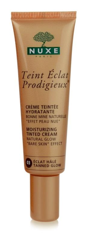 Nuxe Éclat Prodigieux tónovací hydratační krém
