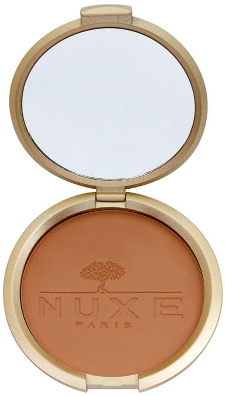 Nuxe Éclat Prodigieux pó compacto bronzeador para rosto e corpo