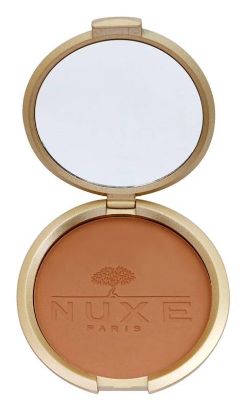Nuxe Éclat Prodigieux компактна бронзираща пудра за лице и тяло