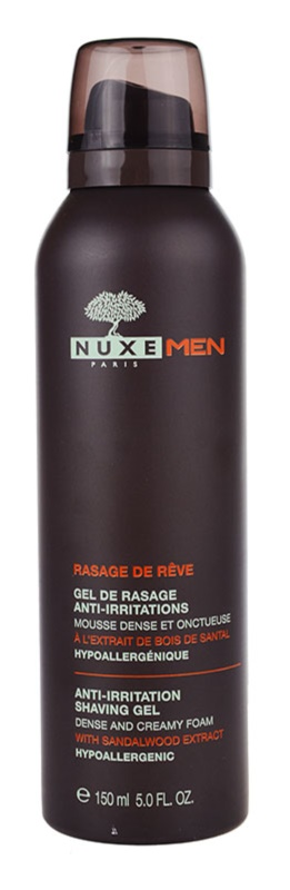 Nuxe Men gel de rasage anti-irritations et anti-grattage