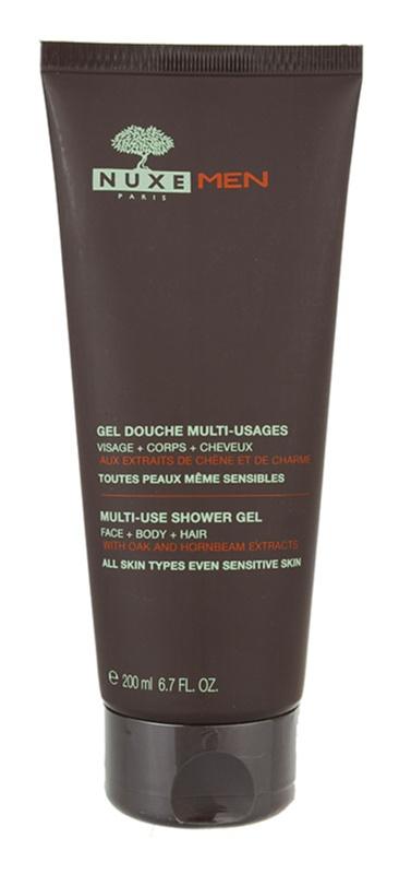 Nuxe Men gel de douche pour tous types de peau