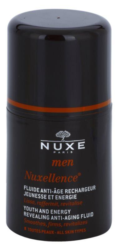 Nuxe Men Nuxellence energizujúci fluid proti starnutiu pleti