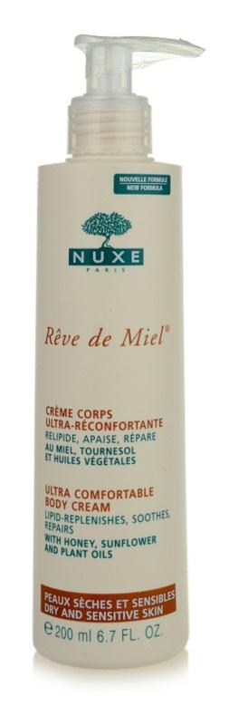 Nuxe Rêve de Miel tělový krém pro suchou pokožku