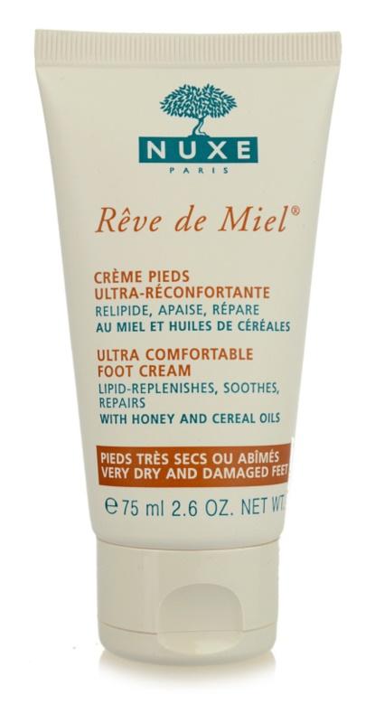 Nuxe Rêve de Miel crema de pies para pieles muy secas
