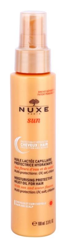 Nuxe Sun védő olajos tej hajra hidratáló hatással