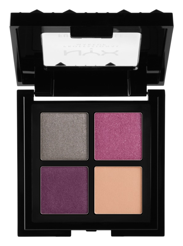 NYX Professional Makeup Full Throttle paleta senčil za oči